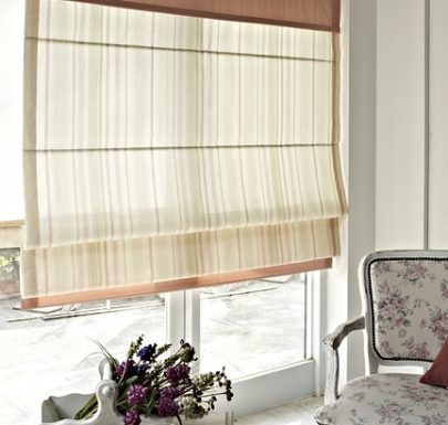 types of roman shades
